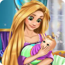 Rapunzel Baby Caring H5