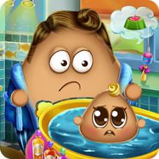 Pou Baby Wash H5