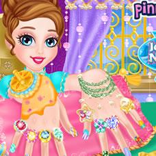 Ice Princess Nail Design
