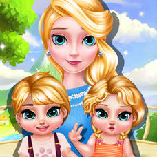 Princess Elsa Twins Care 2